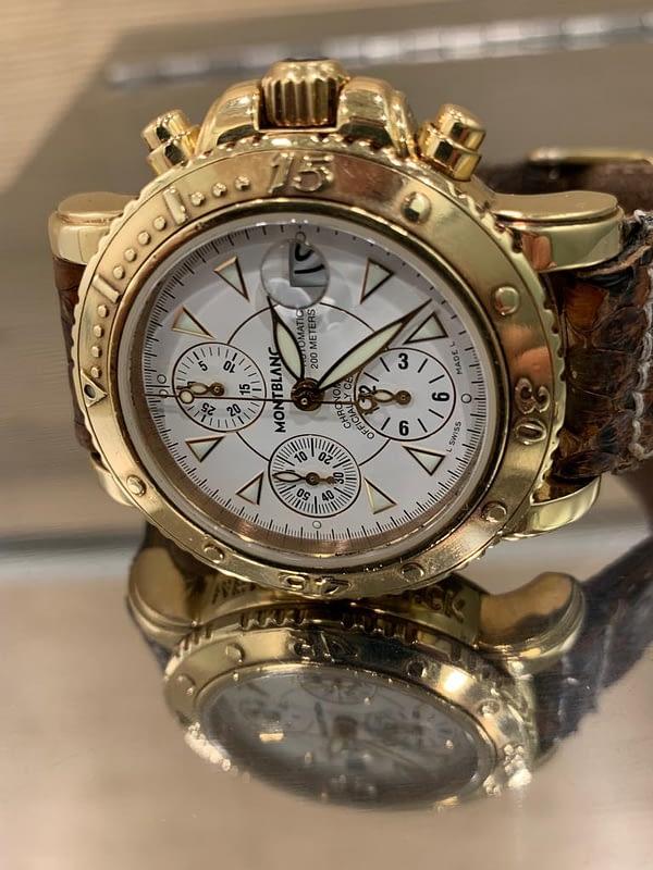 Mont Blanc Sport xxl chronograph