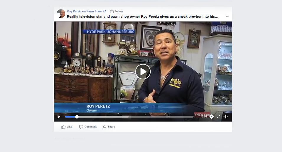 Roy on Pawn Stars