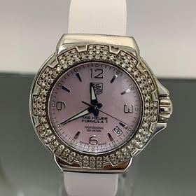 Tag Heuer Ladies F1 with diamonds