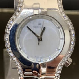 Tag Heuer for ladies with side diamonds